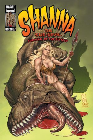 Shanna, the She-Devil: Survival of the Fittest #1