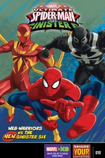 Marvel Universe Ultimate Spider-Man Vs. the Sinister Six #10