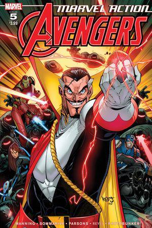 Marvel Action Avengers #5