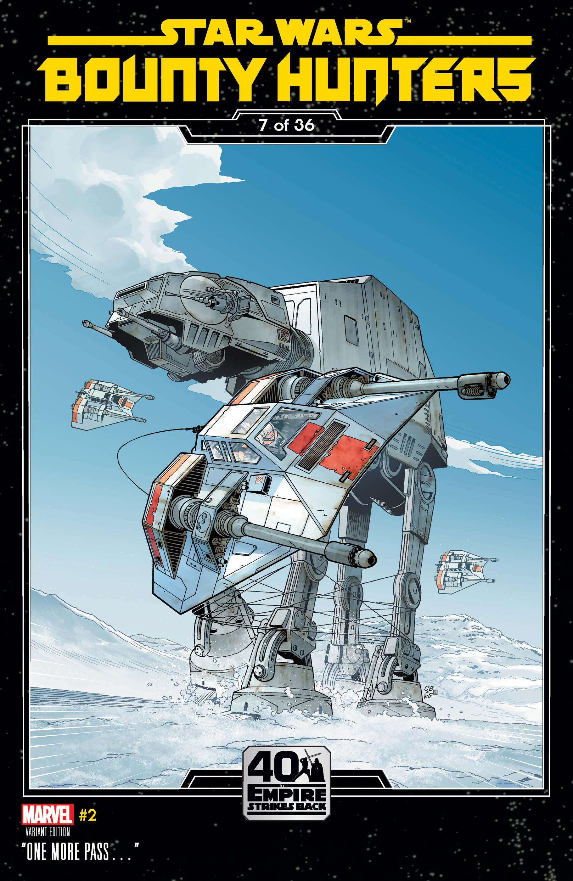 Star Wars: Bounty Hunters (2020) #2 (Variant)