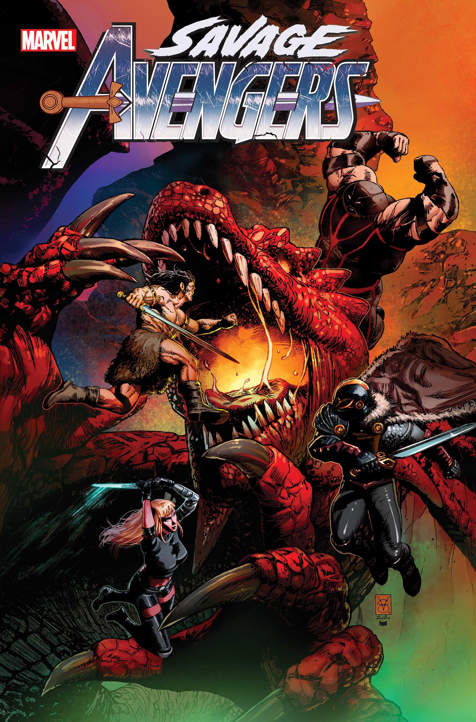Savage Avengers (2019) #14