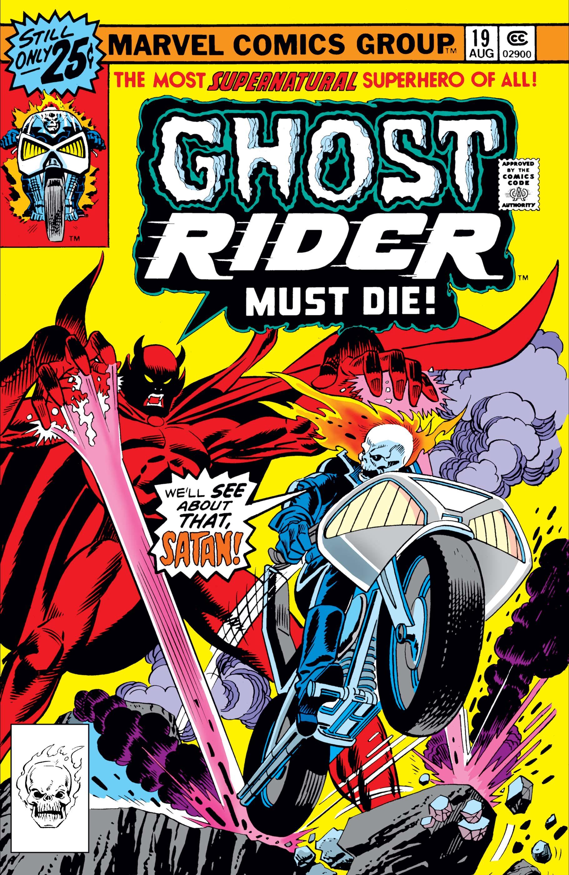 Ghost Rider (1973) #19