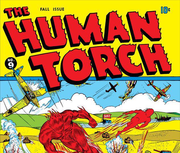 Human Torch Comics #9