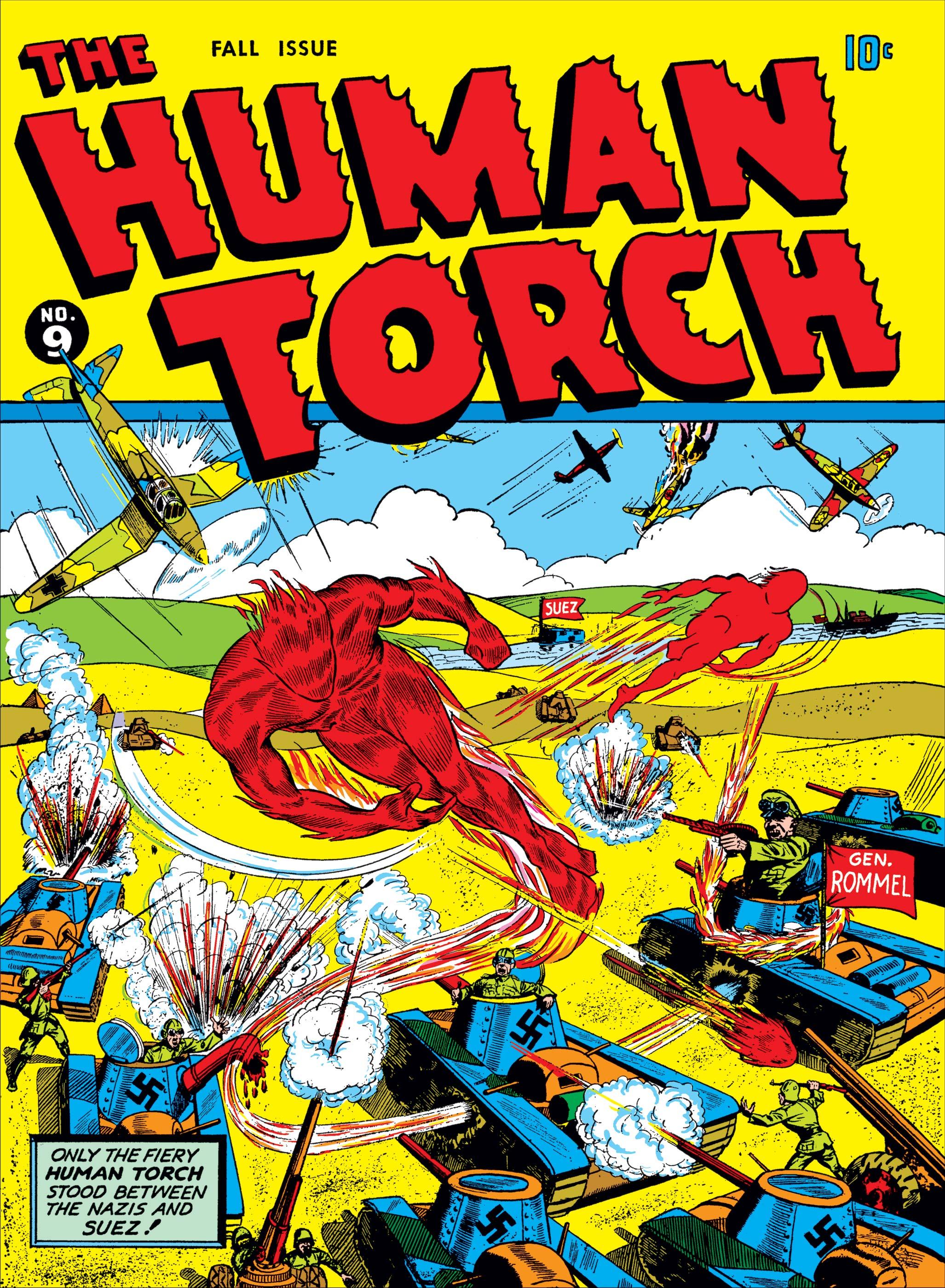 Human Torch Comics (1940) #9