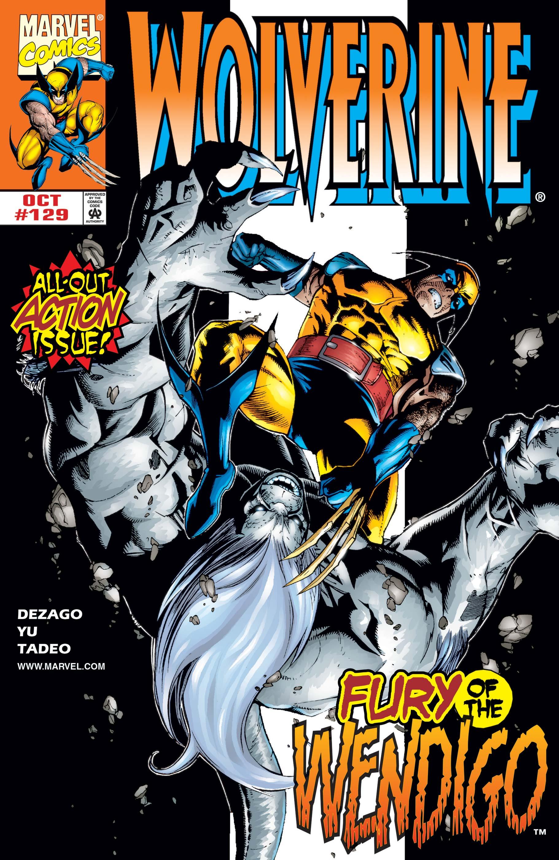 Wolverine (1988) #129