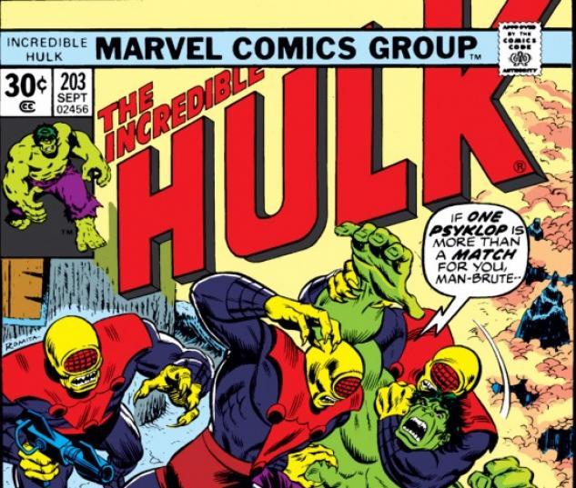 INCREDIBLE HULK (2010) #203 COVER