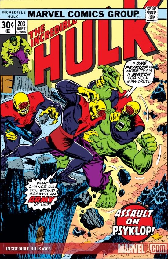Incredible Hulk (1962) #203