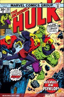 Incredible Hulk #203