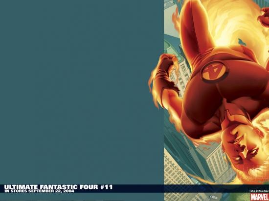 Ultimate Fantastic Four (2003) #11 Wallpaper
