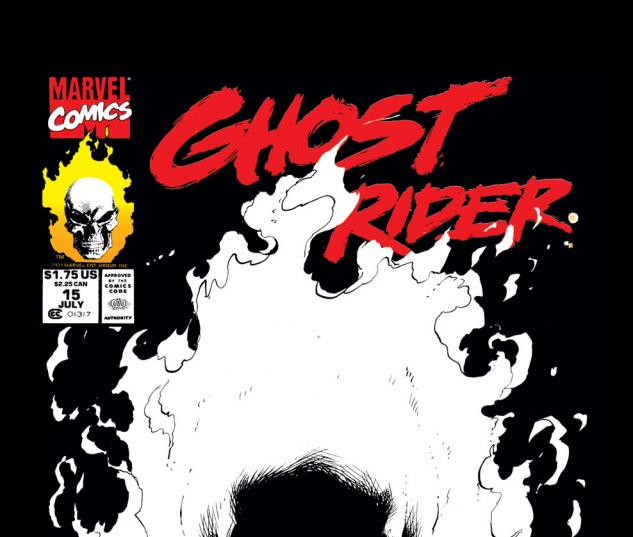 Ghost Rider (1990) #15 Cover