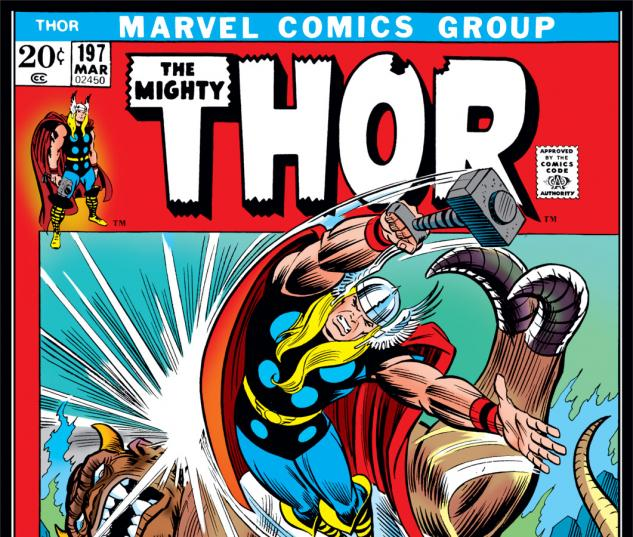 Thor (1966) #197 Cover