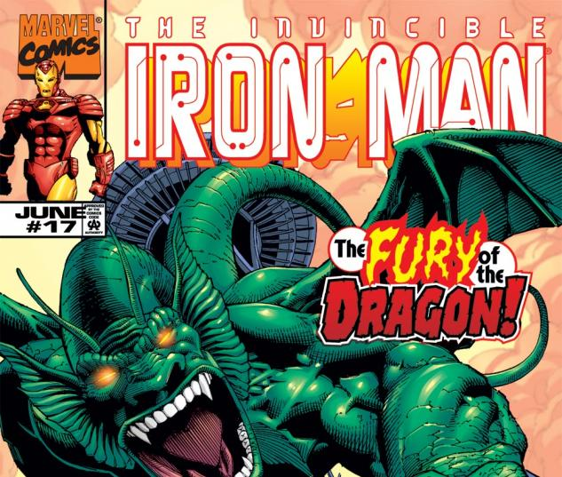 Iron Man (1998) #17 Cover
