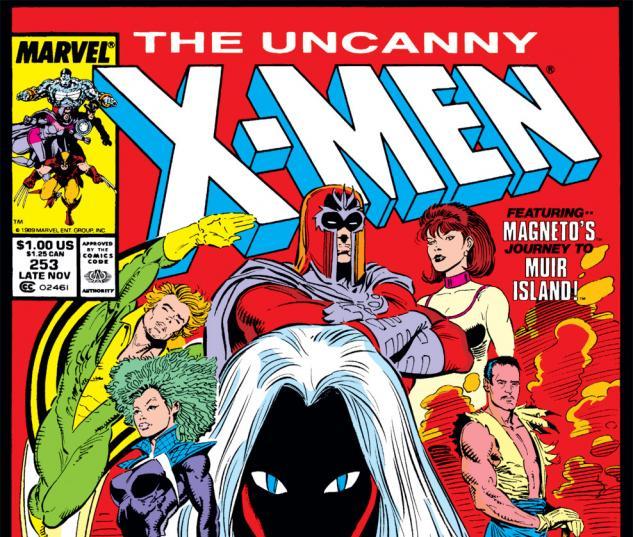 Uncanny X-Men (1963) #253 Cover