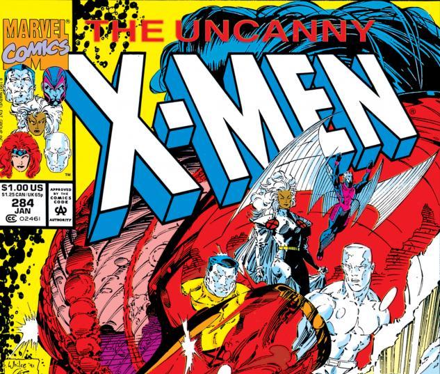 Uncanny X-Men (1963) #284 Cover