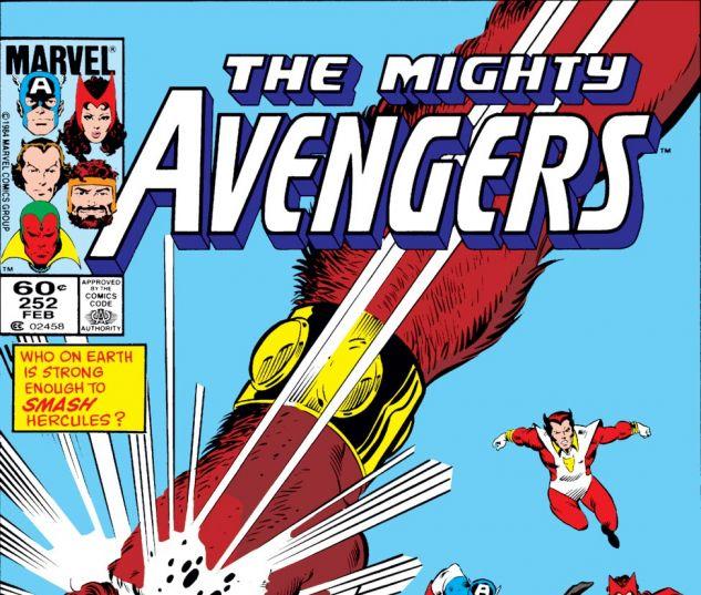 Avengers (1963) #252 Cover