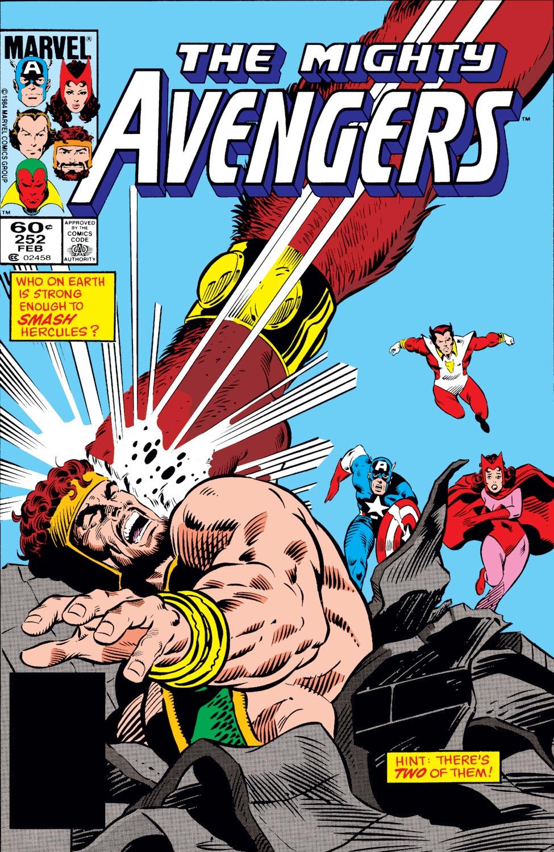 Avengers (1963) #252