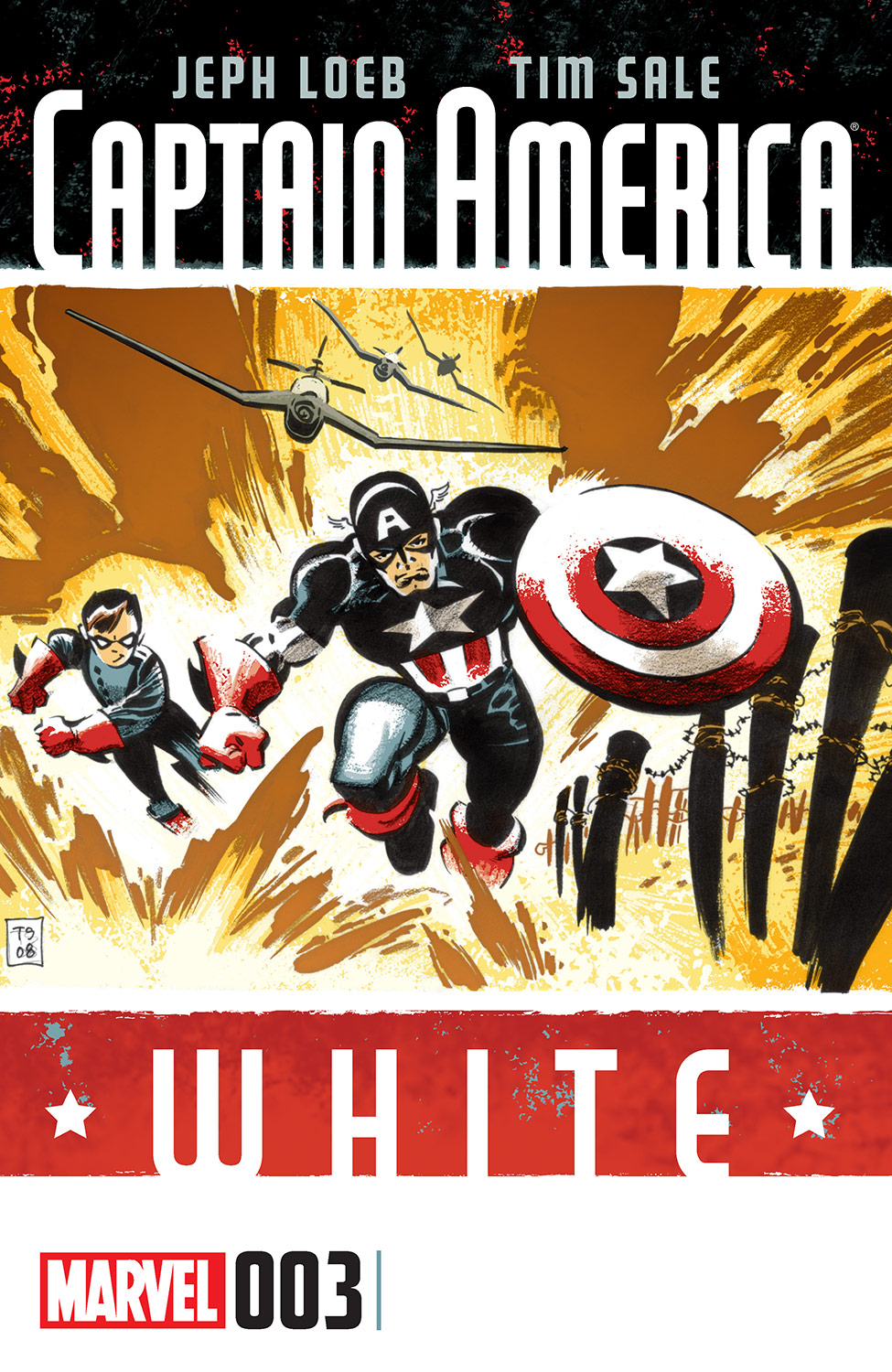 Captain America: White (2015) #3
