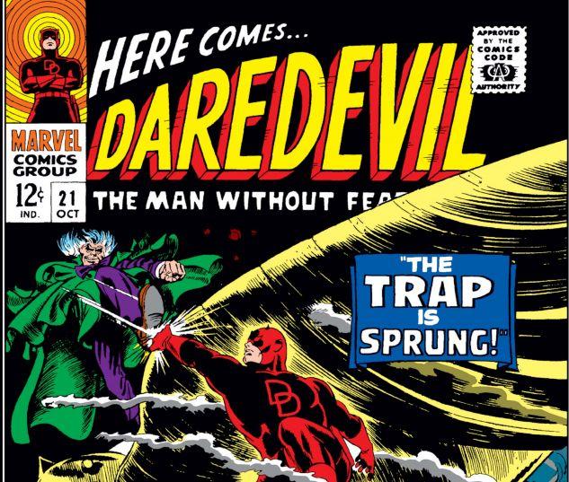 DAREDEVIL (1964) #21 Cover