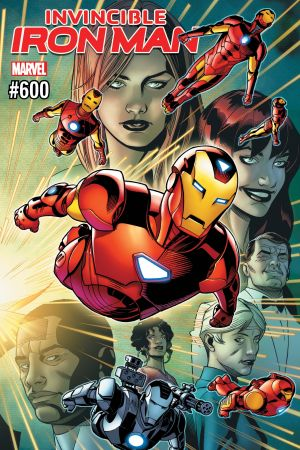 Invincible Iron Man (2016) #600