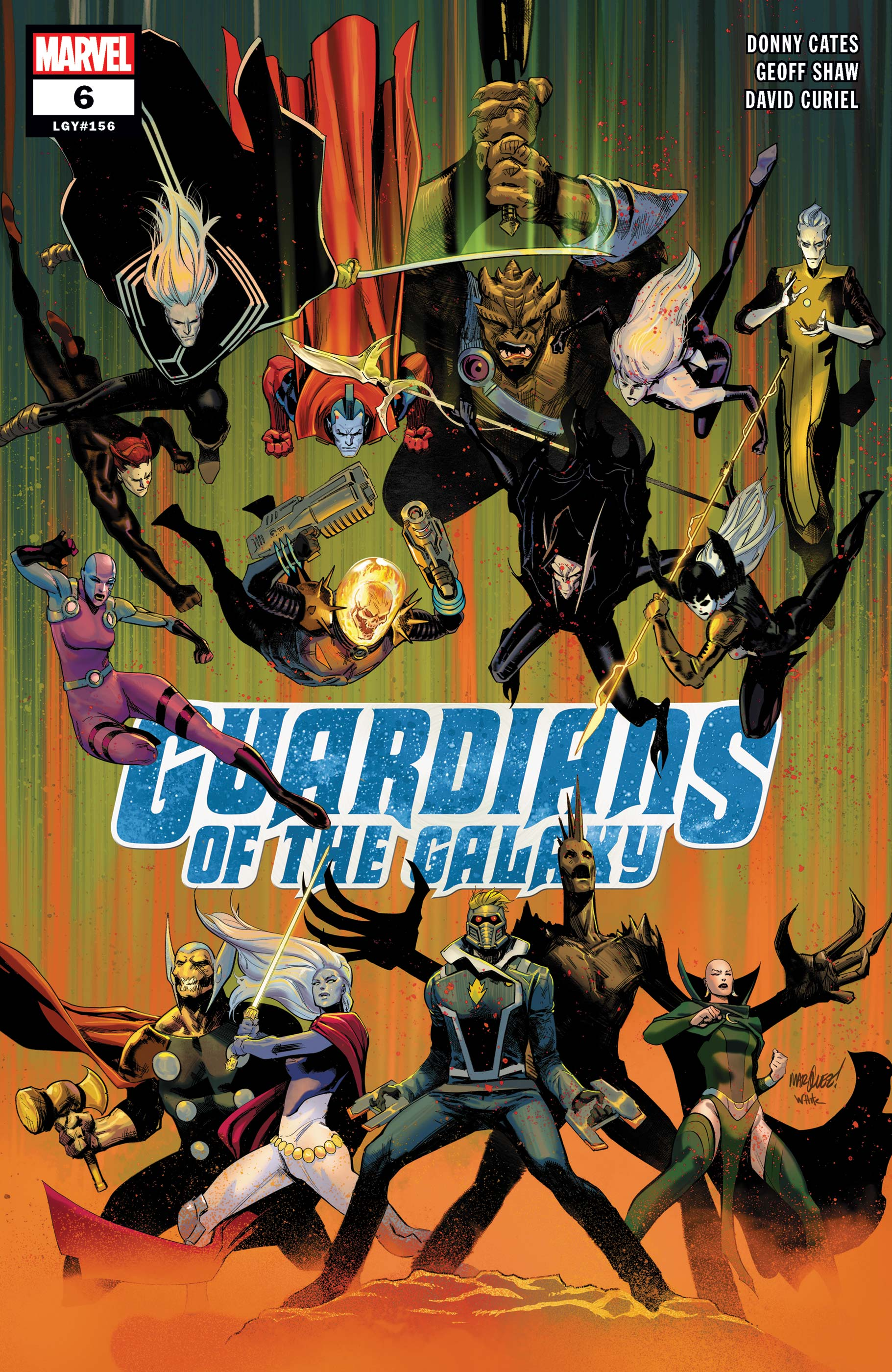 Guardians of the Galaxy (2019) #6