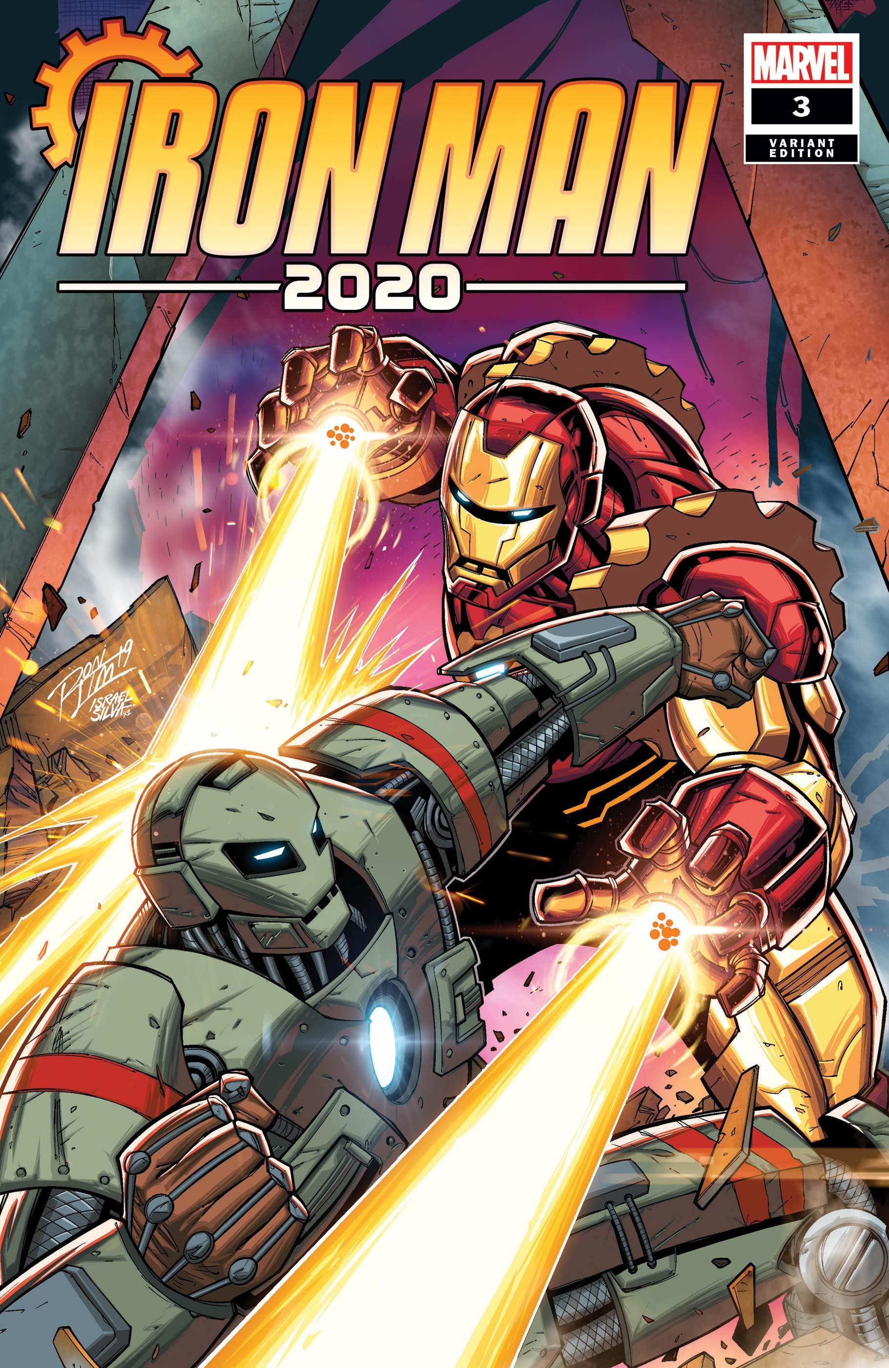 Iron Man 2020 (2020) #3 (Variant)