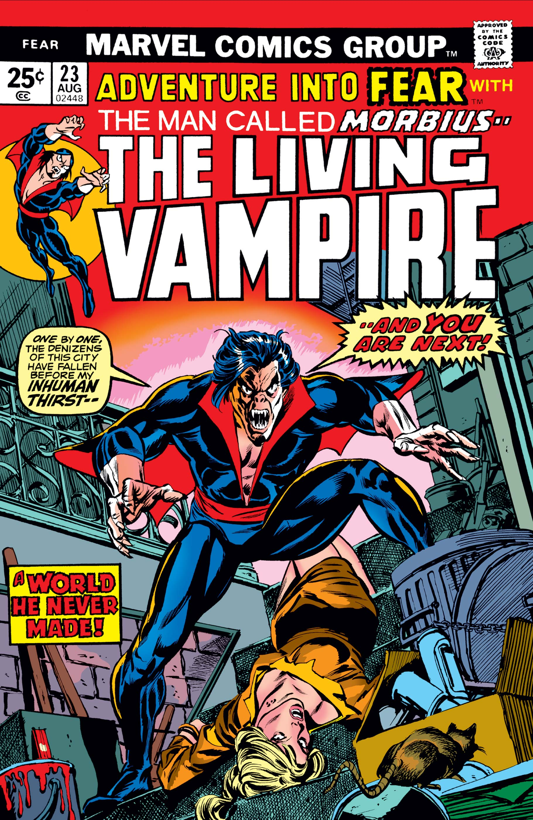 Adventure Into Fear (1970) #23