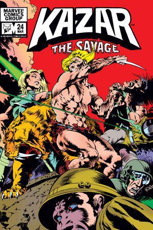 Ka-Zar (1981) #24