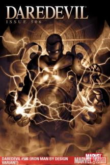 Daredevil (1998) #506 (IRON MAN BY DESIGN VARIANT)
