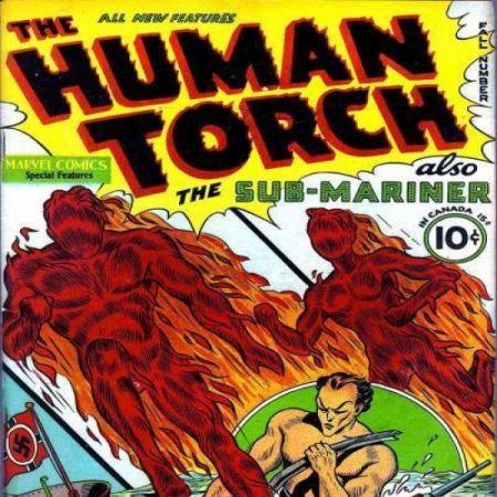 Human Torch Comics (1940 - 1954)