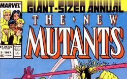 NEW MUTANTS ANNUAL #3 cover