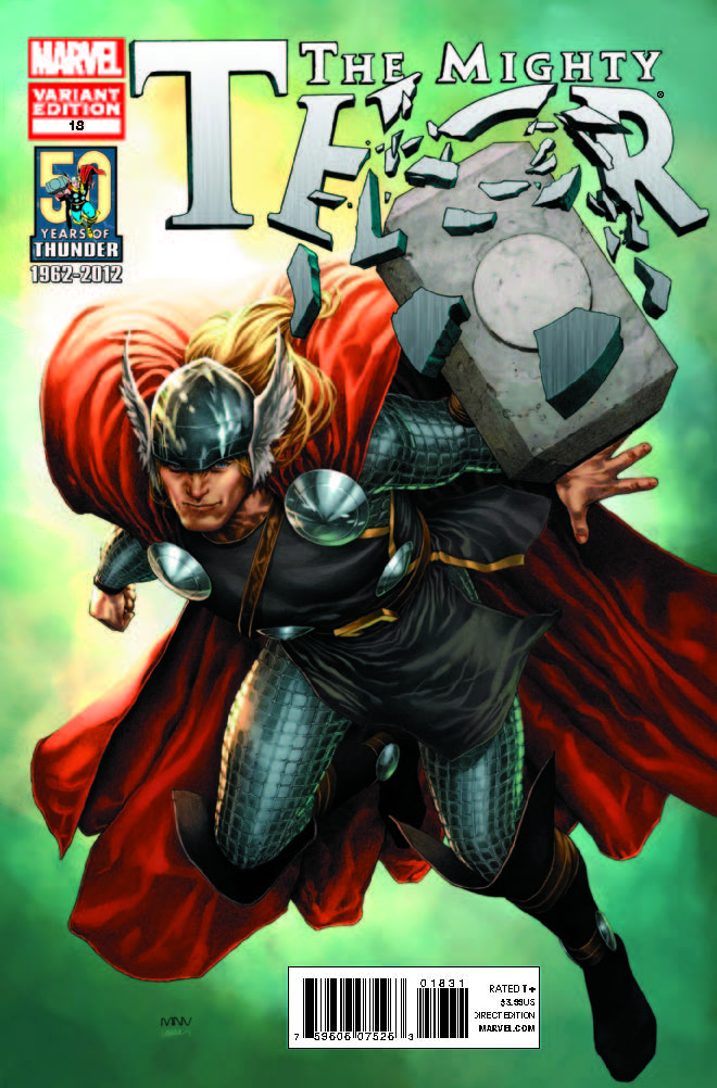 The Mighty Thor (2011) #18 (Thor 50th Anniversary Mcniven Variant)