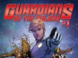 Guardians of the Galaxy (2013) #1 cover by Steve McNiven