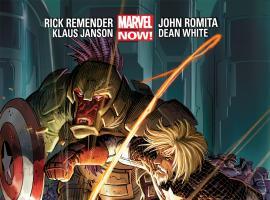 Captain America (2012) #3 cover by John Romita Jr., Klaus Janson & Dean White