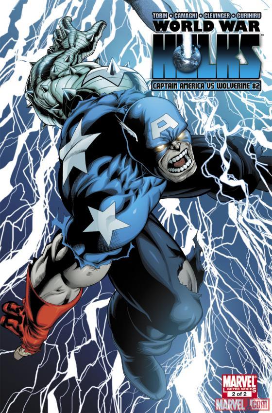 World War Hulks: Wolverine & Captain America (2010) #2