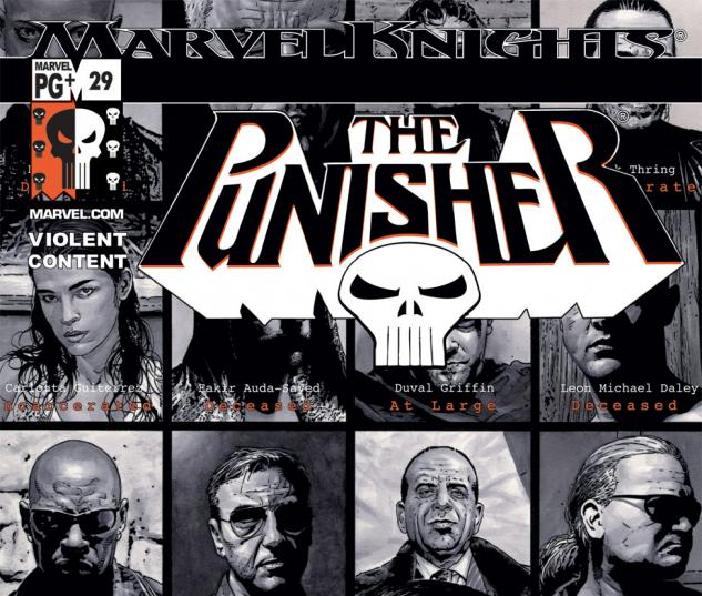 Punisher (2001) #29 Cover