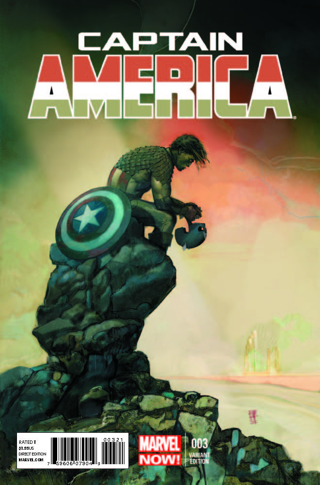 Captain America (2012) #3 (Maleev Variant)