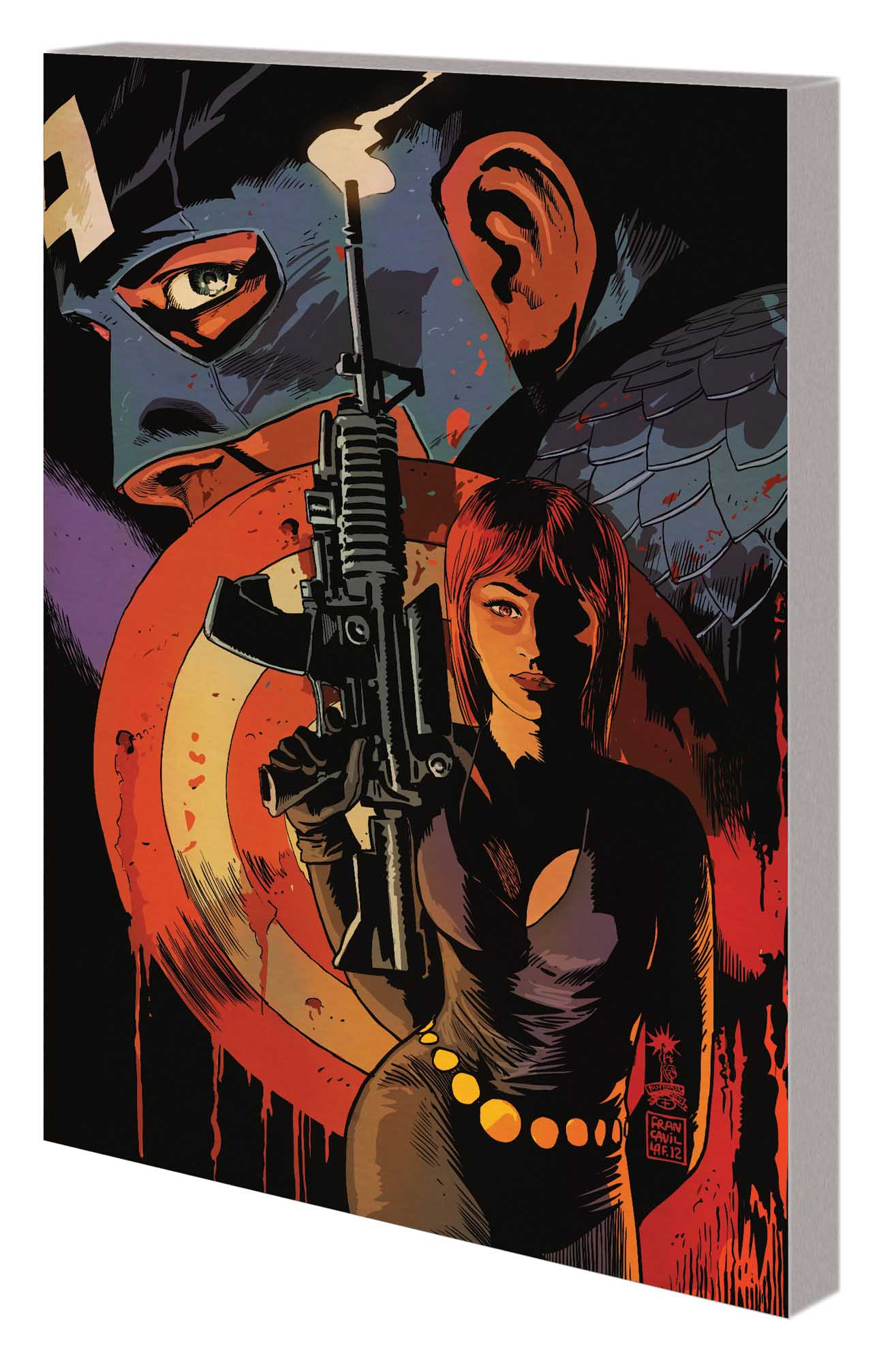 Captain America and Black Widow (Trade Paperback)