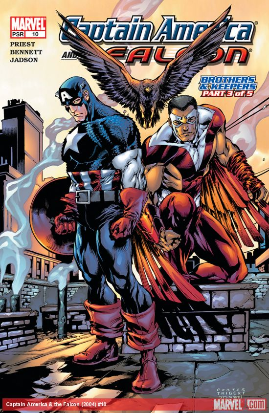 Captain America & the Falcon (2004) #10