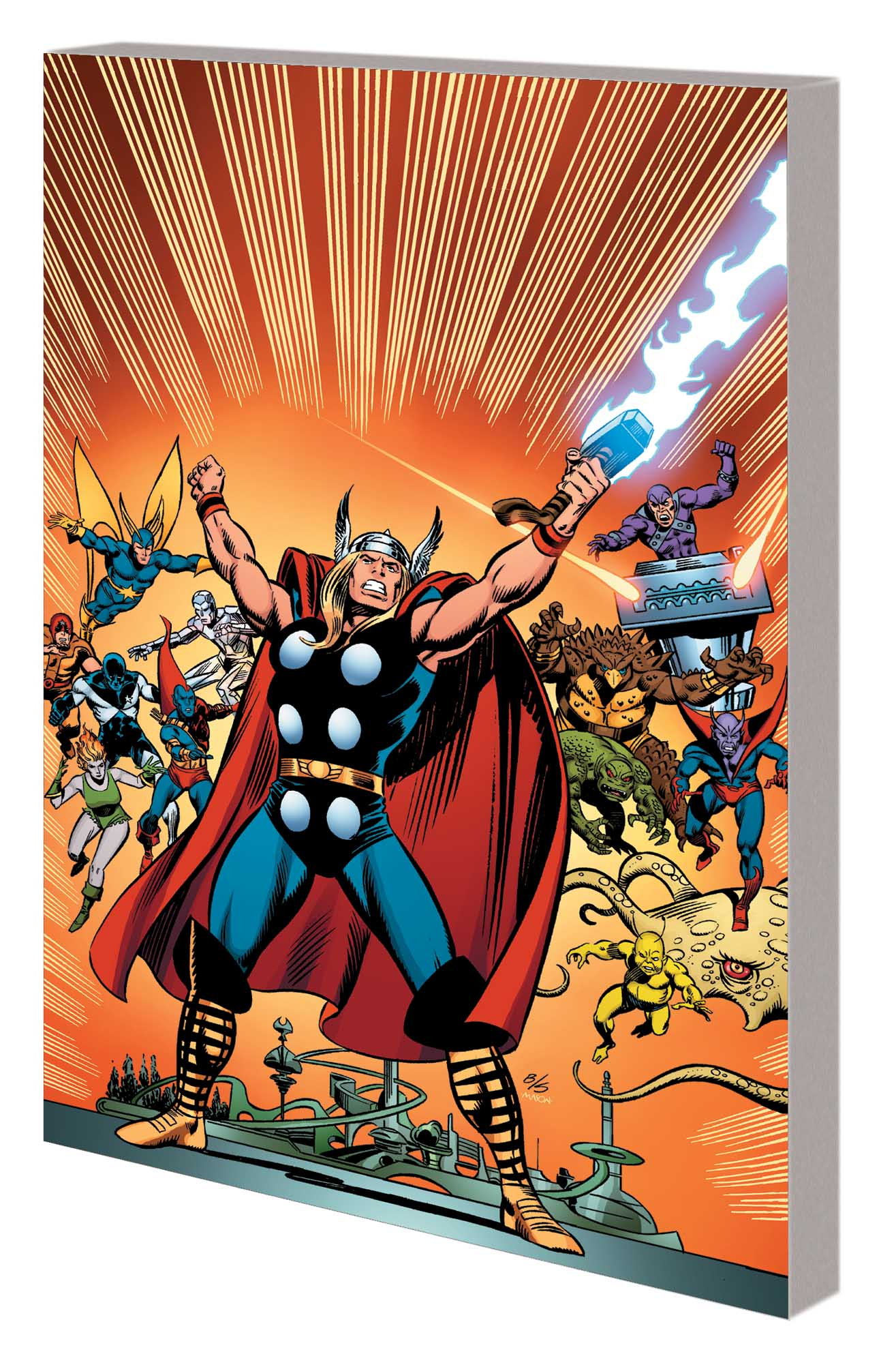 THOR: GODS, GLADIATORS & THE GUARDIANS OF THE GALAXY TPB (Trade Paperback)