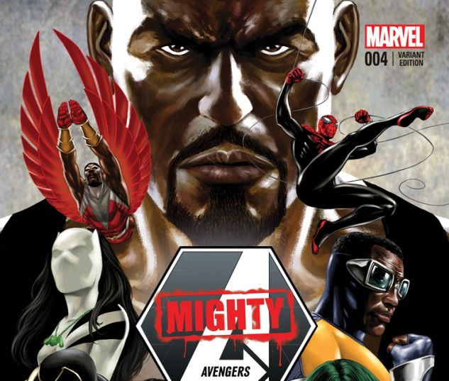 MIGHTY AVENGERS 4.INH EPTING VARIANT (WITH DIGITAL CODE)