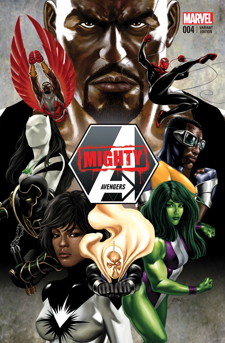Mighty Avengers (2013) #4 (Epting Variant)