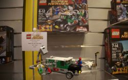 Ultimate Spider-Man's Doc Ock Truck Heist LEGO set