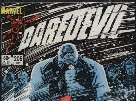 Daredevil #206 cover