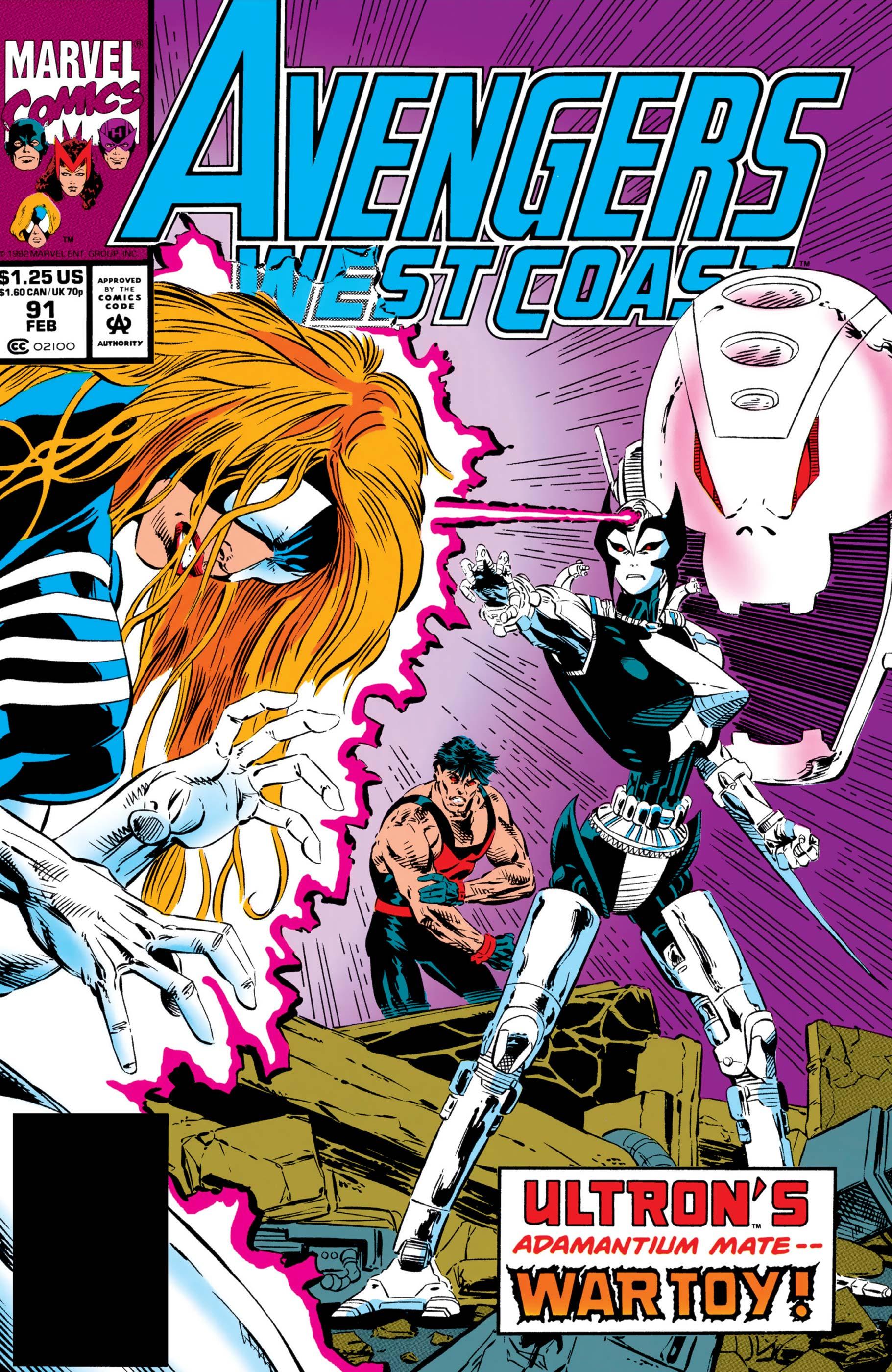 West Coast Avengers (1985) #91