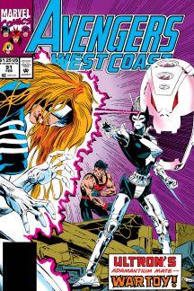 Avengers West Coast (1985) #91
