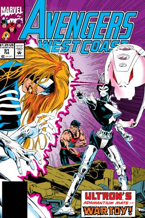 West Coast Avengers #91