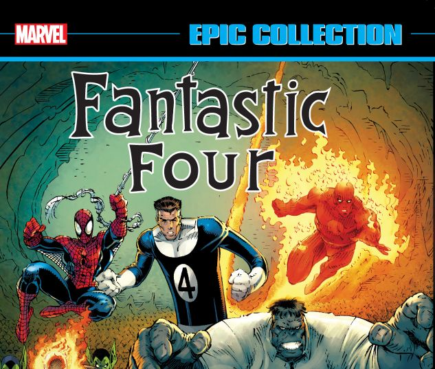 cover from FANTASTIC FOUR EPIC COLLECTION: THE NEW FANTASTIC FOUR TPB (2018) #1