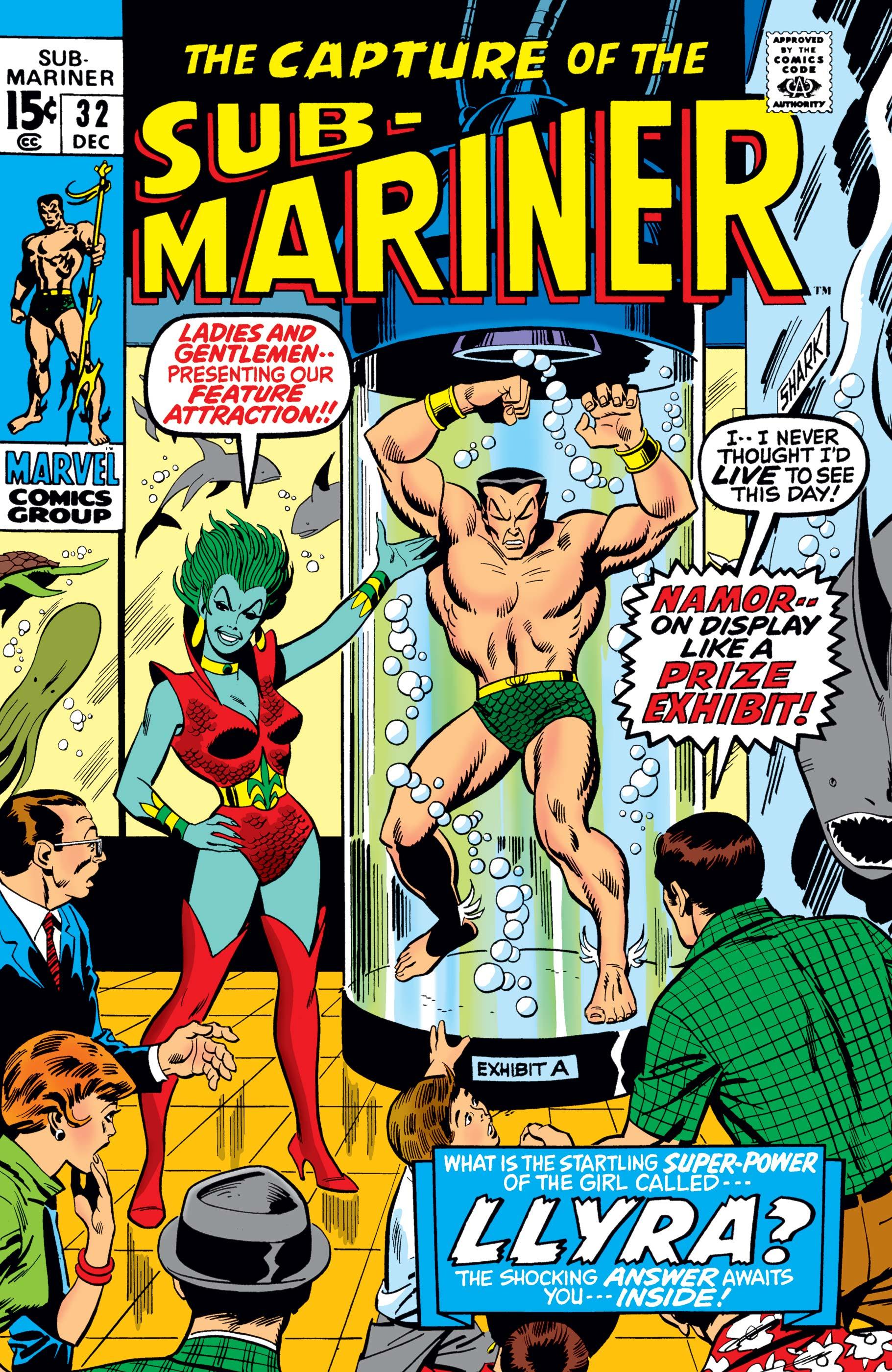 Sub-Mariner (1968) #32