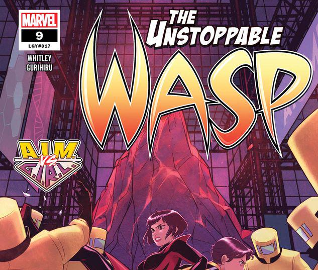The Unstoppable Wasp #9