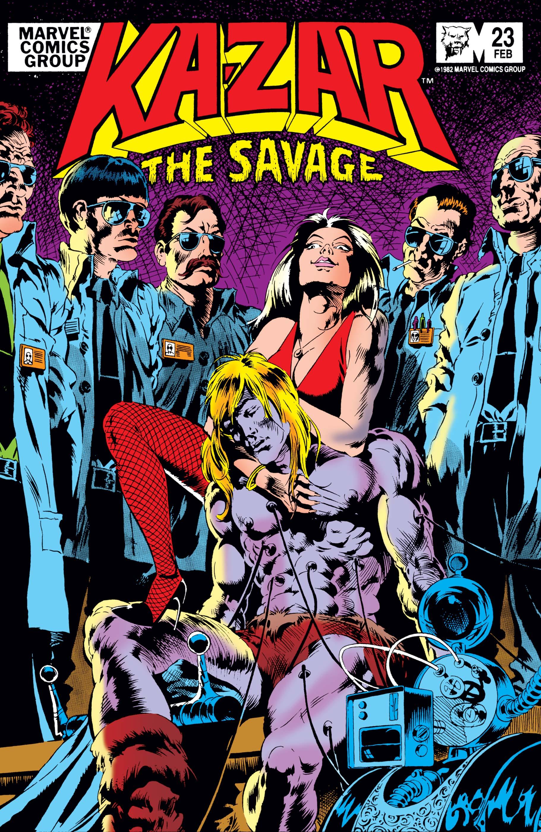 Ka-Zar (1981) #23